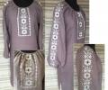 Блузка удлиненная 4096
