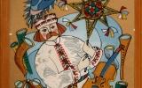 Панно в технике росписи по стеклу - артикул 4-154-91