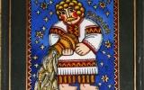 Панно в технике росписи по стеклу - артикул 4-315-98