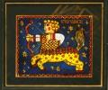 Панно в технике росписи по стеклу - артикул 4-310-98