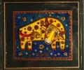 Панно в технике росписи по стеклу - артикул 4-313-98