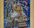 Панно в технике росписи по стеклу - артикул 5-68-14