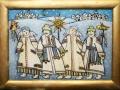 Панно в технике росписи по стеклу - артикул 4-174-05