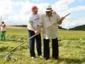 Жерар Депардье в июле в Беларуси примерил вышиванку