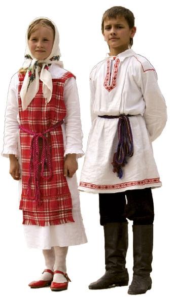 Традиционный белорусский костюм