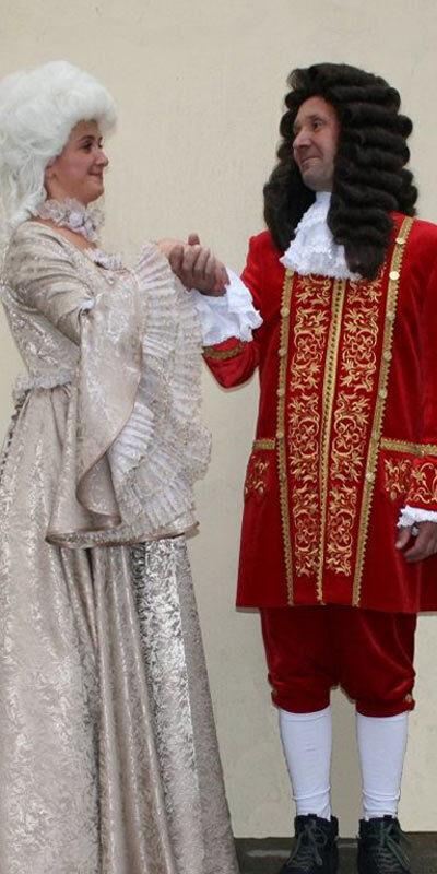 Исторический, сценический костюмы